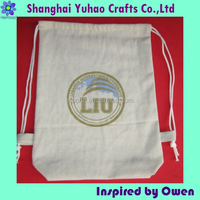 Cotton shopping bag with printed logo