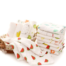 2 layers pre-washed 100% organic cotton baby muslin swaddle blanket