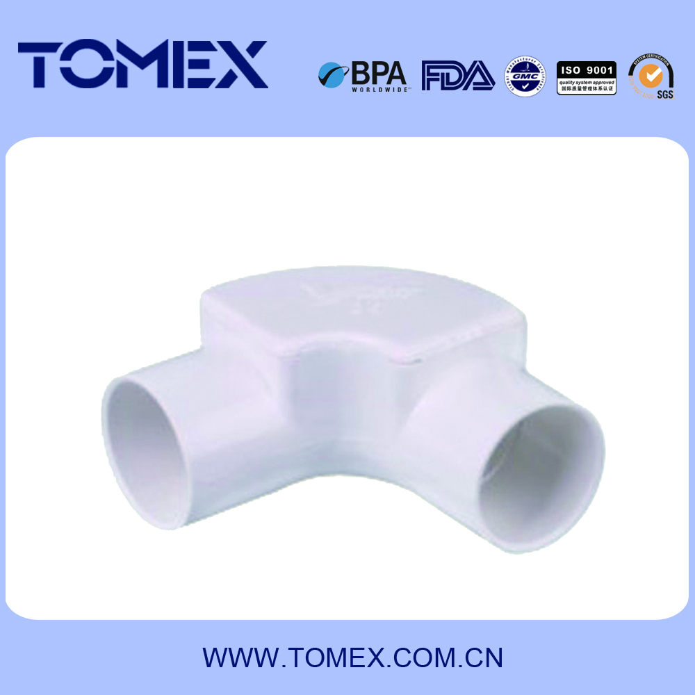 Made-in-China Plastic material pvc electric conduit converter (GB/T14823---BS EN 61386)