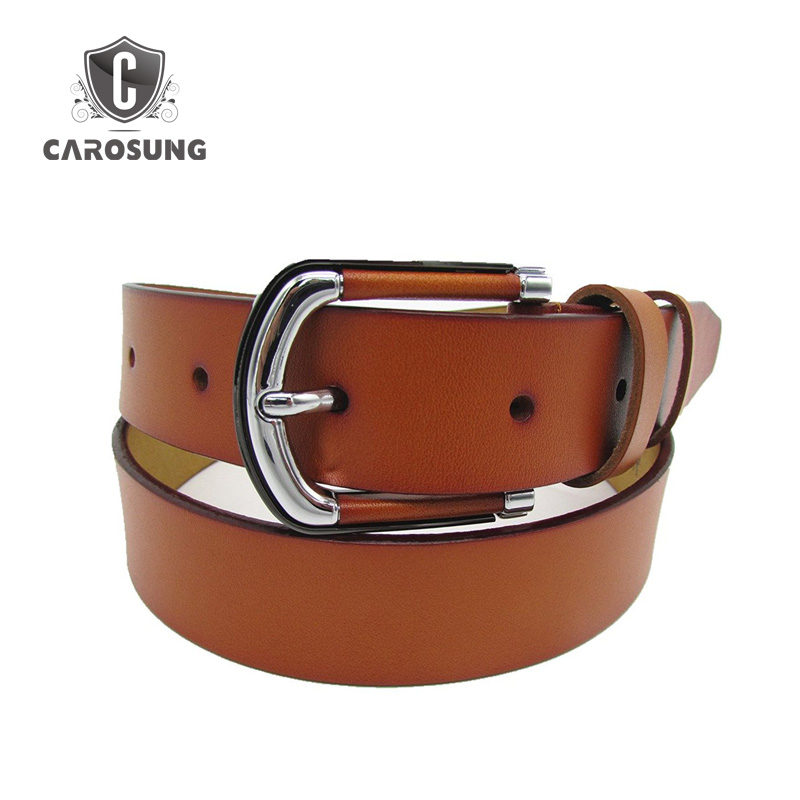 Alloy Material and Cowboy Pin Style Buckle Men's Belt
