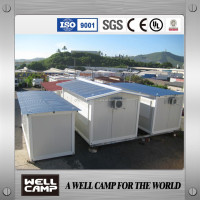 Hot Sale Luxury Prefabricated Container Houses Living Container Houses For Labor Camp Manager