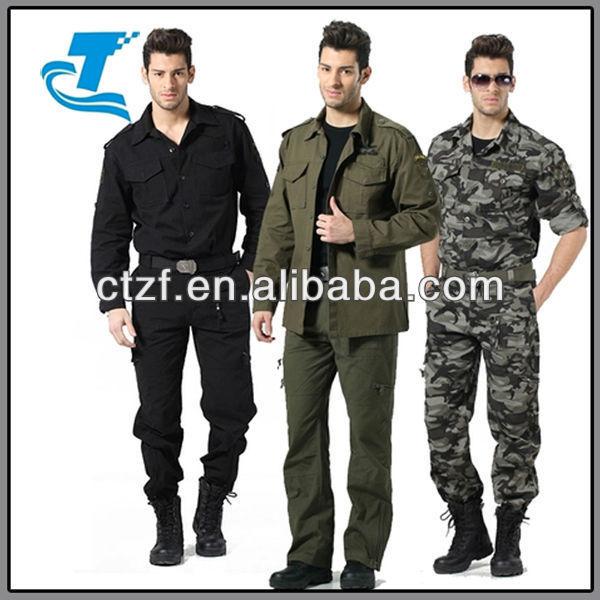 Hottest Men Combat Uniform Suit / Camouflage Suit / Work Suit