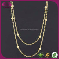 Most Popular Products Black Beads Gold Chain Designs