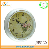 white Plastic antique wall clocks modern wall clock