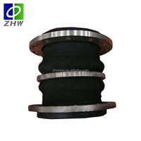 Hot sale anticorrosion expansion joint double rubber bellows coupling