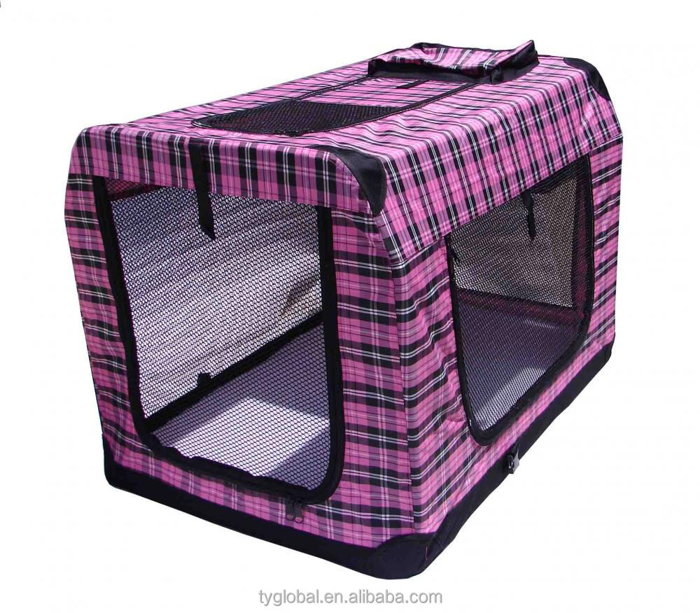 outdoor Portable Pet Dog House Soft Crate Carrier Cage Kennel Free Carry folding cage