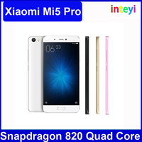 "Original Xiaomi Mi5 Pro M5 Mobile Phone Snapdragon 820 4GB RAM 128GB ROM 5.15"" 1920x1080 4-Axis OIS Fingerprint ID 16MP Camera"