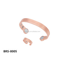 BRS-8005 set pure copper bang and ring dubai gold jewelry set / wedding jewellery designs