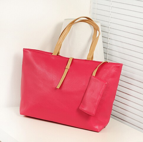 2014 the winter trendy handbags PU lady bags