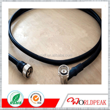 1/2 Inch super flexible Coaxial Jumper Cable with DIN Male Connector to DIN Male Connector