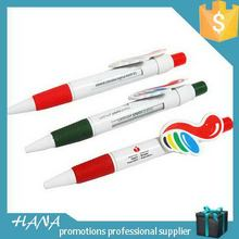 Contemporary manufacture promotional custom plastic pens