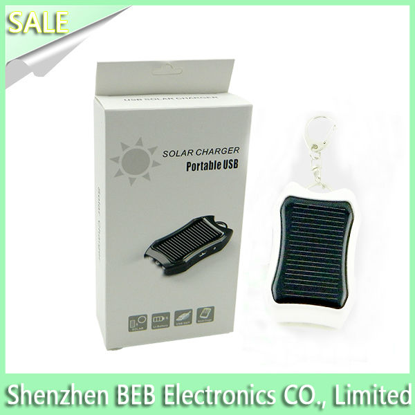 Mini 1200mah solar power battery charger with best factory price