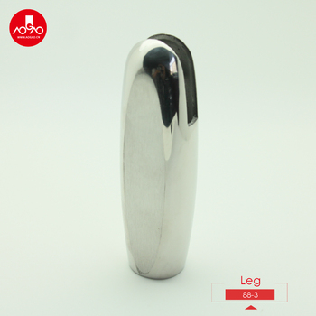 stainless steel toilet cubicle hardware support leg