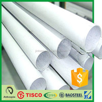 EN 1.4301 cr tube sus304 stainless round pipe steel wuxi x10crni18-8 stainless steel