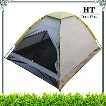 2 Man Single Layer Cheap Camping Dome Tent for sale