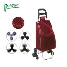 Custom Made Foldable Eco-Friendly Shopping Small Trolley Bag