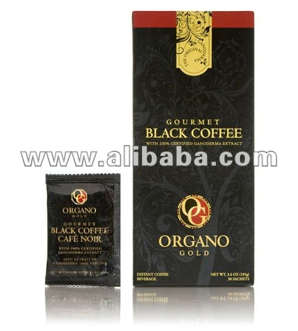 100% ORGANIC COFFE WITH 100% CERTIFIED ORGANIC GANODERMA