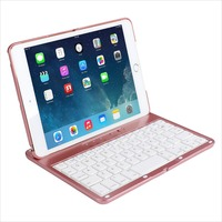 Mini Keyboard Wirless Removable Bluetooth Keyboard Case For Apple iPad Mini 1/2/3 with multi-angle stand
