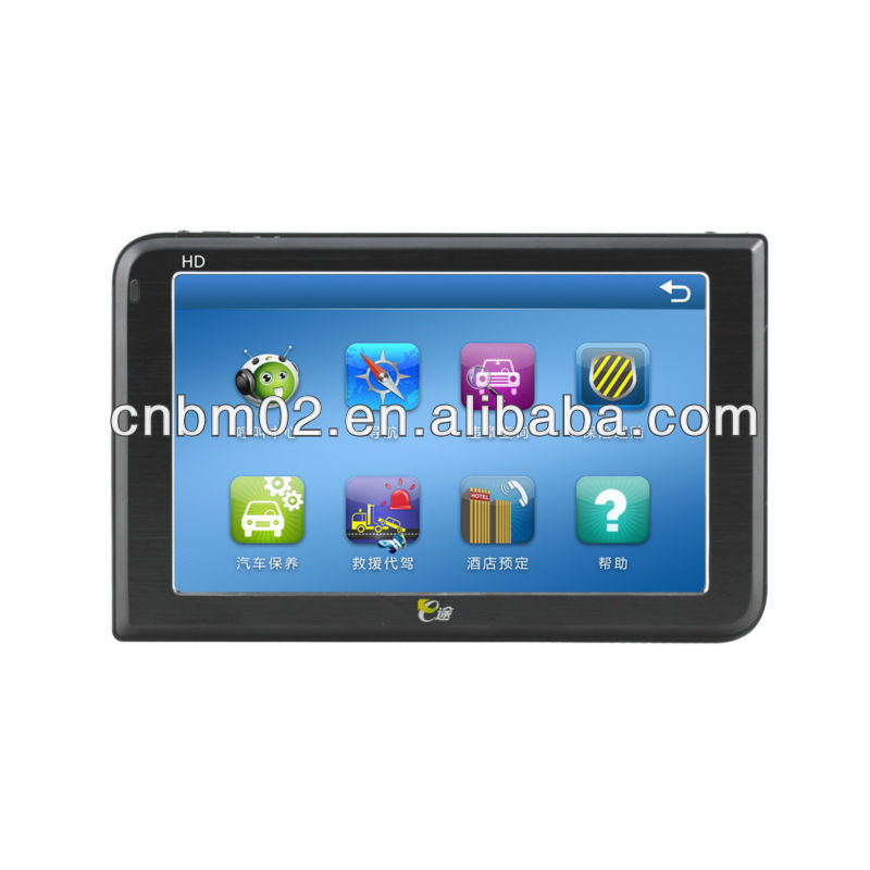 Automotive GPS Navigator 5 Inch Screen, Bluetooth function, 8G Memory