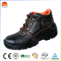 New product high quality cheap steel toe safety shoes factory
