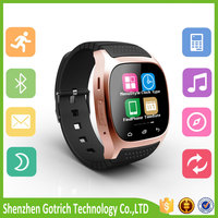 Alibaba wholesale android smart watch hot bluetooth watch m26 elder smart watch phone