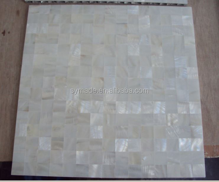 peal shell tile sea shell tile mother of pearl picture frame