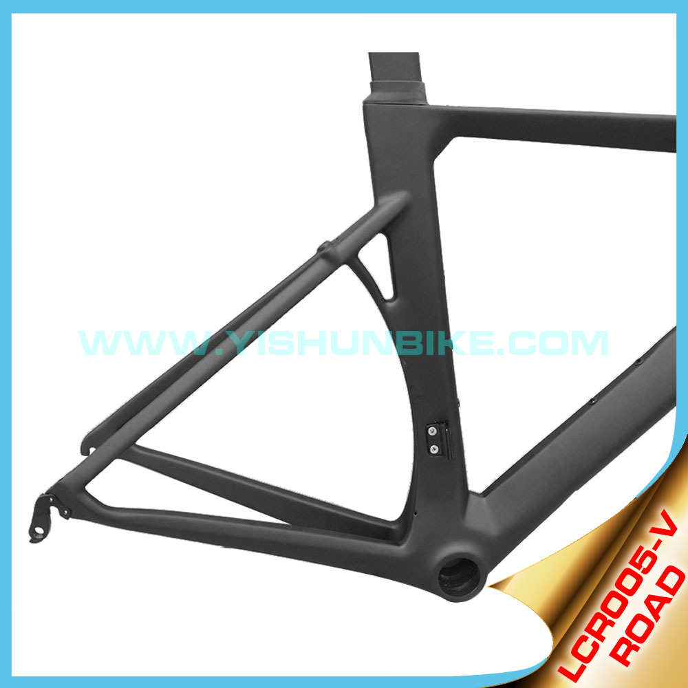 Stiffness carbon frame with BB86 bottom bracket 700C road carbon frame matt/glossy china manufacture
