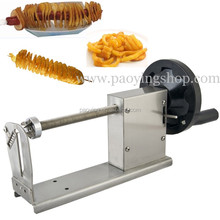 Commercial Use Stainless Steel Manual Curly Fries Hot Dog Potato Twister Machine