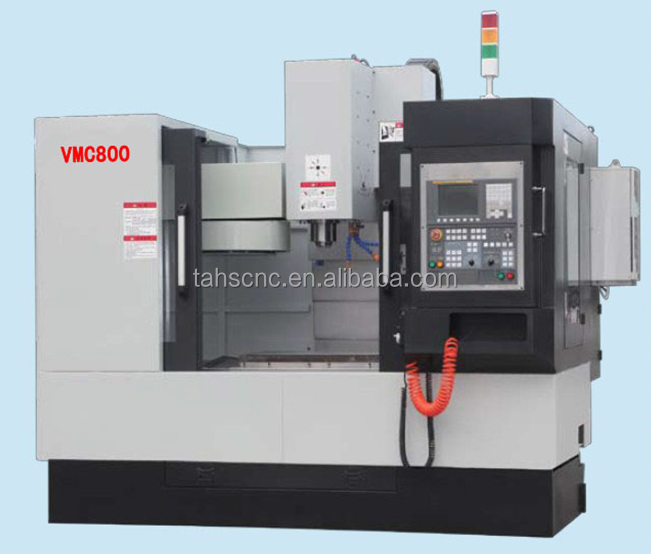 VMC800-vertical machining center with Tool magazine: Taiwan's armless library.