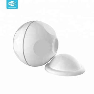 Wireless Wifi Remote Control Pir Motion Sensor with Magnet Bracket for Home Alarm Security System