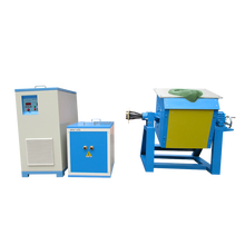 Medium frequency electric portable IGBT induction melting furnace for melting gold