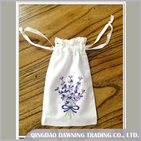 Factory Price Lavender Drawstring Sachet Bag