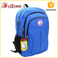 Polyester wholesale children school bag 16 inch Teen school backpack for boys