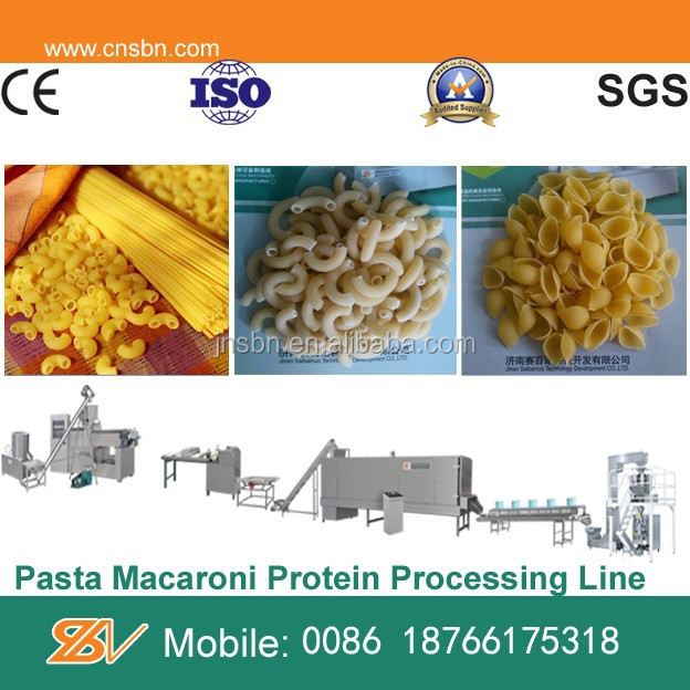 High output capacity Industrial pasta machine italy,macaroni processing line making machine
