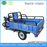 Electric rickshaw strong power new type 3 wheel cargo tricycle