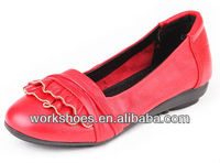2013 hot-selling Latest fashion elegant genuine leather redcausal comfortable durable reliable three color women shoes