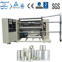 PET PVC and PE Protective Film Slitting Rewinding Machine