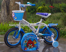 fashion strong kids bike with bag and helmet on sale