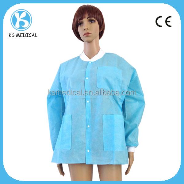 Men and Women Long Sleeve Medical Lab Uniform Jacket Coats
