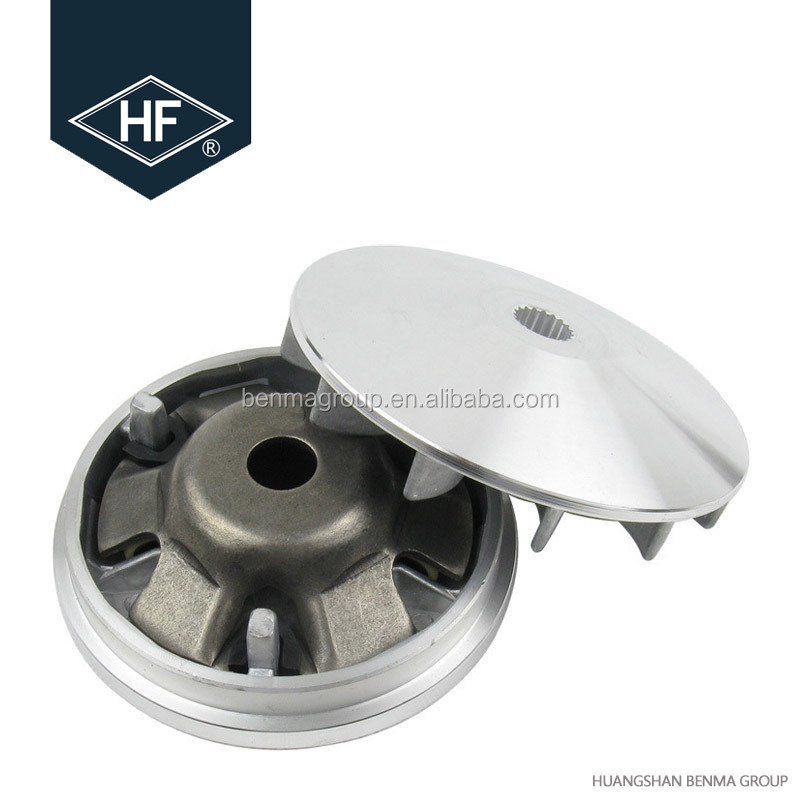 gy6125cc driving wheel assy drive pulley action wheel
