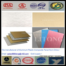 BRUSH FINISH ALUMINUM COMPOSITE PANEL