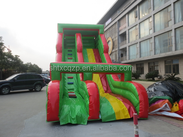 commercial grade giant inflatable water slide