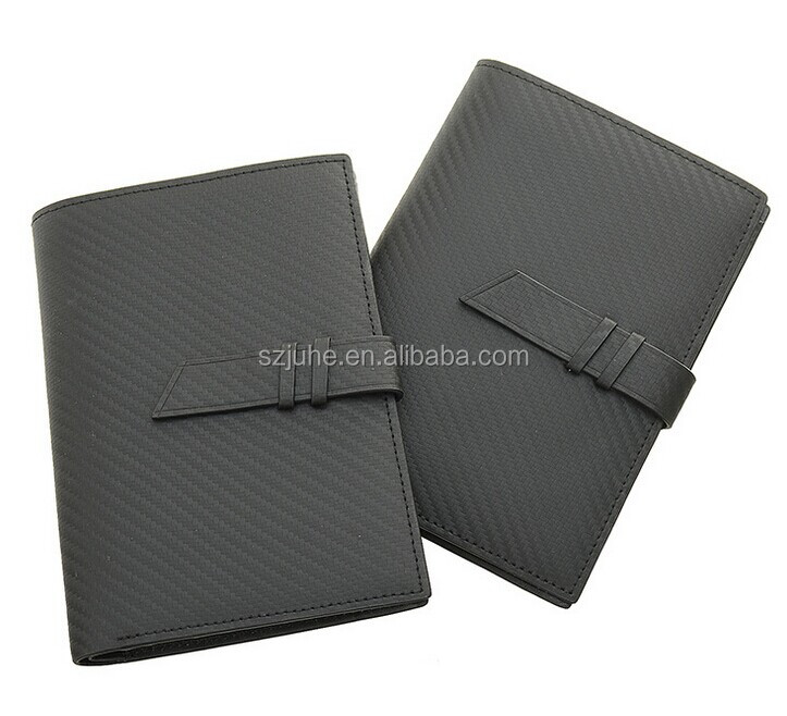 carbon fiber texture travel card holder wallet airline passport ticket holder