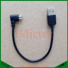 Slim Left Angle Short micro usb cable for andriod,film songs mp3 free download data cable