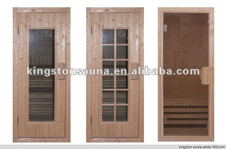 Todo tipo de puertas de madera sauna finlandia salas de - Tipos de saunas ...