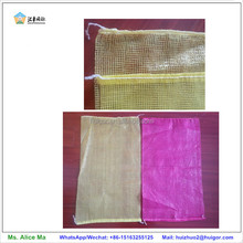 wholesale tubular knitted plastic agricultural mesh bag for onion corn