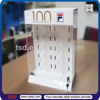 TSD-A264 Optical shop counter top locking sunglass display, acrylic glasses display stand,sunglasses display with lock
