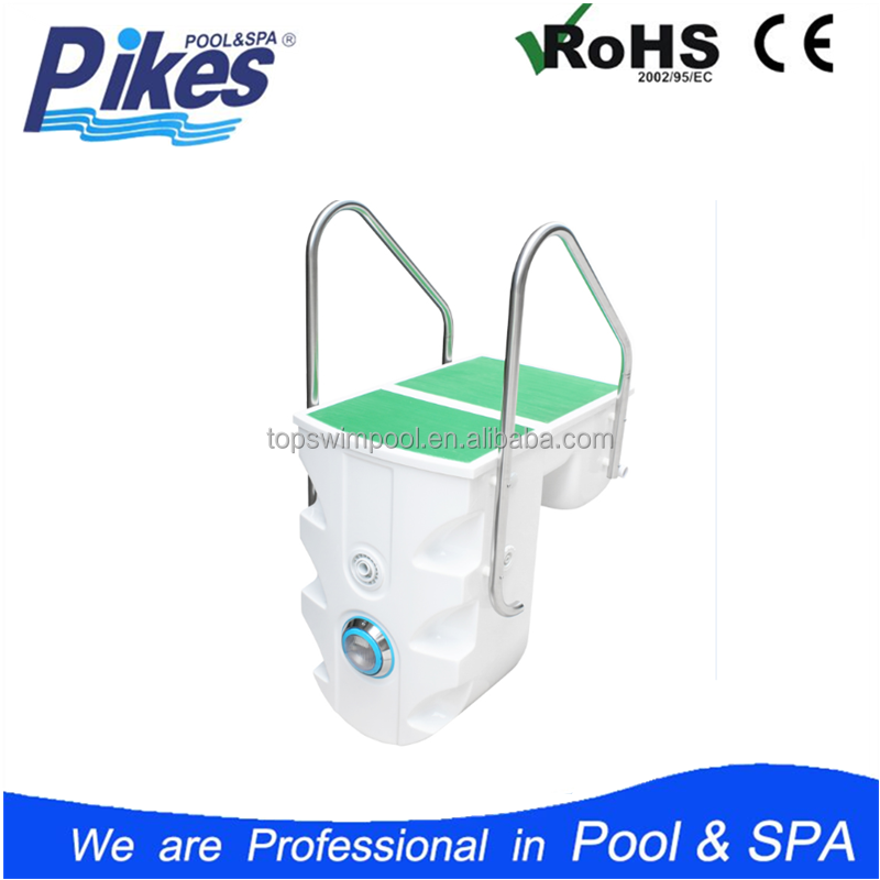 factory supply water life filter system lucite acrylic swimming wall-hung pipeless pool filter