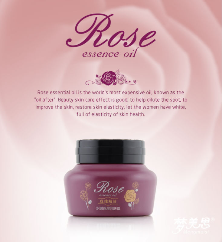faccial treatment rose essence organic night cream and lotion