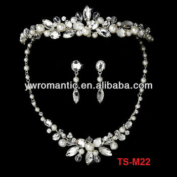 high quality hot pink jewelry sets wedding jewelry